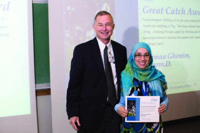 Thomas Johns, Pharm.D., and Shimaa Ghonim, Pharm.D.