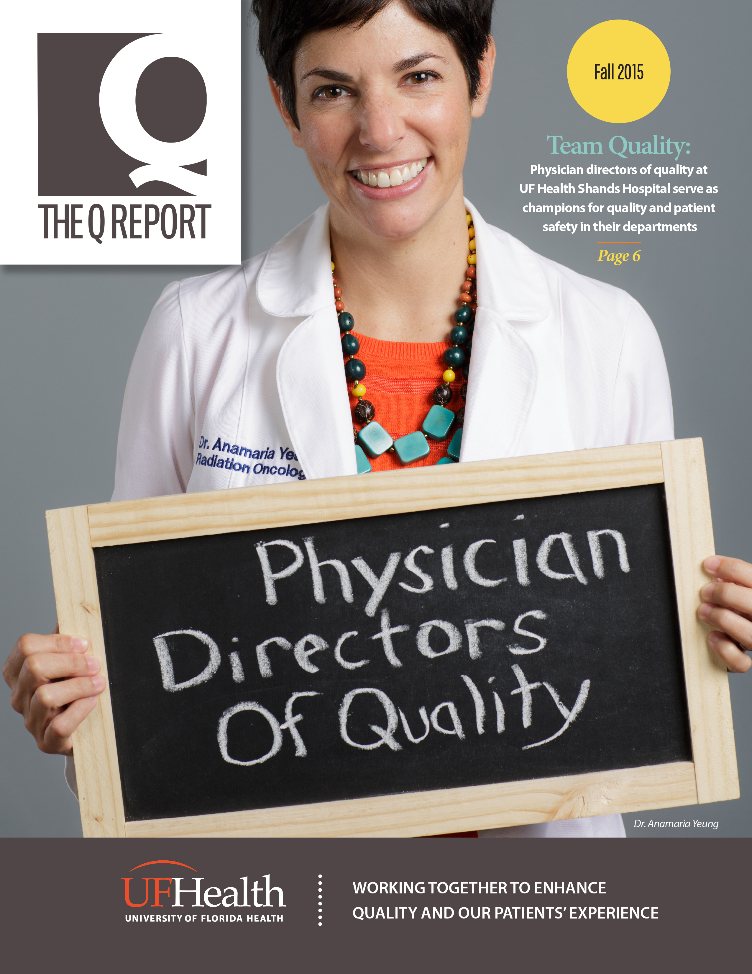 Cover for Fall 2015 Issue